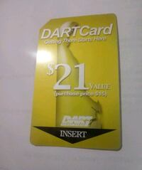 Bus cards for sale