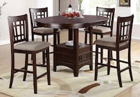 5 Piece Counter Height Dining Set Richardson, 75080
