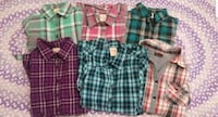 Beautiful Girl Size 4t / 5t Shirts Total of 6 Henderson, 89074