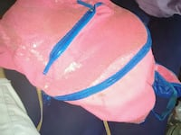 pink and blue leather crossbody bag New York, 10018