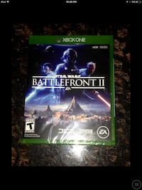 BRAND NEW SEALED STARWARS 2017 release BATTLEFRONT II FOR XBOX ONE GAMING CONSOLE