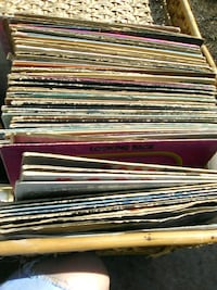 Over 40 classic rock vinyl records,from conway twi Hot Springs, 71913