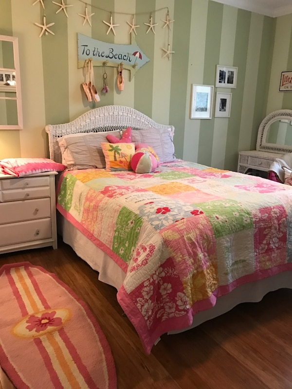 Used Pottery Barn surfer Girl Bedding for sale in Raleigh ...