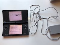 black Nintendo DS with charger Falls Church, 22044