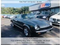 1980 Fiat 124 Spider Norfolk