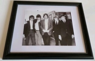 The Rolling Stones framed photo
