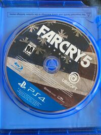 Farcry 5 ps4 one owner no case the case is for farcry primal Fredericksburg, 22406