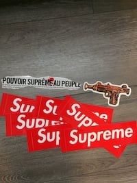 Supreme stickers London, N5Z
