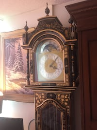 Antique hand painted grandfather clock  Toronto, M2R 3N1