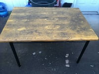 Metal and Wood Table $30.00 - OBO Medford