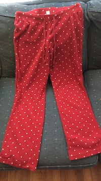 Fleece Pajama Pants Size M Rock Hill, 29730