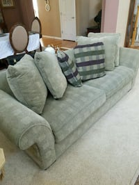 gray fabric 3-seat sofa Castle Rock, 80108