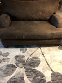 gray and black suede sofa Lubbock, 79410