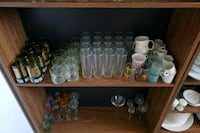 assorted clear glass bottles and vases Toronto, M1P 2B7