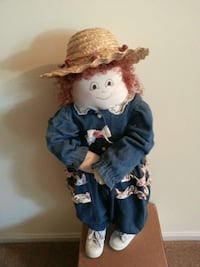 doll hand made in blue denim over all suit Annapolis, 21401