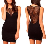 Lace ONE-PIECE Bodycon Dress Spring Hill