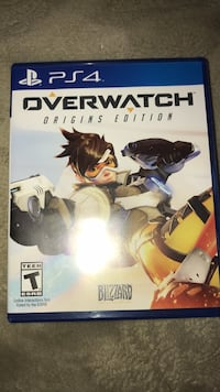 Overwatch Origins Edition PS4 game case Glendale, 91202