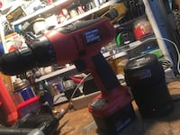 red and black Fire Storm cordless power drill Palmdale, 93550