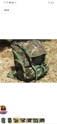 military  ruk backpack great condition  Des Moines