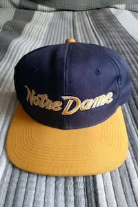 Notre Dame Sports Specialties The Twill Snapback Toronto, M6A