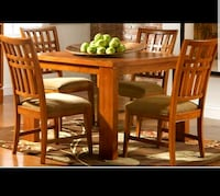 Solid Oak Dining Table with 4 chairs Woodbridge, 22191