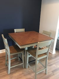 Dining Table rustic/vintage Forest, 24551