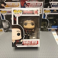 Scarlet Witch Funk Pop. Never been opened.  Elton, 70532