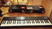 Korg x5d with hard case Mississauga, L4X 2T2