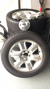 2007 Ford F-150 FX4 Stock rims and tires. Have all lugnuts and center caps.  Woodbridge, 22193