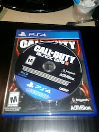 Sony PS4 Call of Duty Black Ops 3 game disc