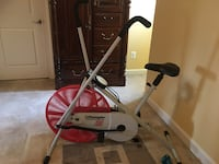 white and red elliptical trainer Alexandria, 22314