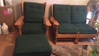 Love seat chair with ottoman Simpsonville, 29681