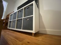 Ikea cubby shelf or tv stand  New York, 11208