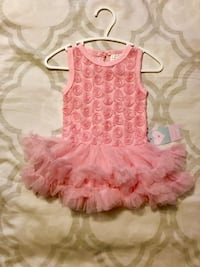 Baby Girls 3 Month Pink Tutu Dress Brand New with Tags