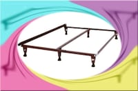 king bed frame with middle support Silver Spring, 20906