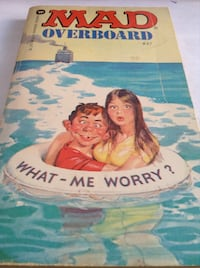 Rare Collectible early MAD Magazine : MAD overboard (book)