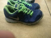 pair of blue-and-green Nike running shoes Tucson, 85712