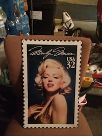 Marylin vintage post stamp photo Buena Park, 90621
