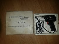 black Chicago Electric P-33073 Soldering airsoft Gun with Light and box Paxinos, 17860