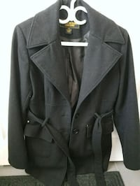 black notch lapel suit jacket Calgary, T3M 1Z4