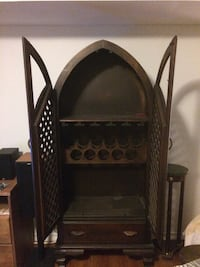 Beautiful mahogany Wine Cabinet
