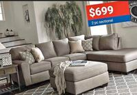 Cashmere 2-Piece Sectional On Sale Now For Black Friday! New York, 11435