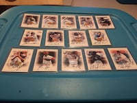 Assorted baseball player autographed trading cards Orillia, L3V