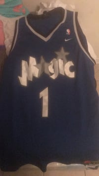blue and white # 24 jersey New Orleans, 70126
