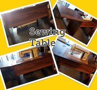 two brown wooden framed glass top tables Port Hueneme, 93041