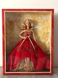 BNIB 2014 Holiday Barbie Mississauga, L5N 8H2
