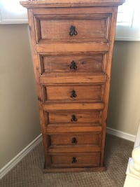 Two matching pine dressers for sale  Irvine, 92603