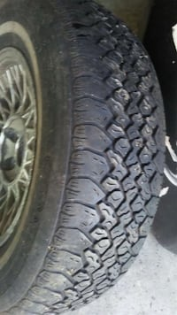 set of Lincoln tires and rims