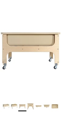 Deluxe Sand & Water Table With Lid And Tan Tub 26-1/2W x 40-1/4L x Toronto, M3K 1H5
