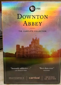 Downton Abbey: The Complete Series DVD Columbus, 43231